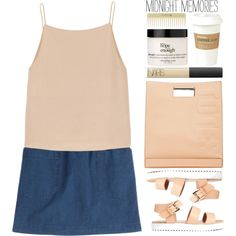 Untitled #1622 by tacoxcat on Polyvore featuring polyvore fashion style T By Alexander Wang A.P.C. 3.1 Phillip Lim NARS Cosmetics Kikkerland philosophy