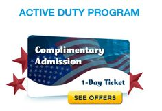High Quality Visit Busch Gardens Free, Military Member +3 Dependents