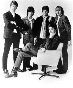 Rock band 'The Yardbirds' pose for a portrait in 1965 Chris Dreja Jeff Beck Paul SamwellSmith Keith Relf Jim McCarty