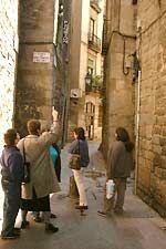 Barcelona's Jewish Quarter...traveled here in 1994.