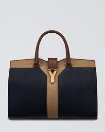 0c9ea6966 Yves Saint Laurent tote Roupas, Sapatos, Mulheres, Bolsas De Couro,  Carteira,
