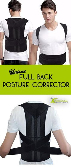 Does a Posture Corrector Brace Work? – The Natural Posture