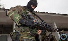 Forças Especiais do Exército Brasileiro em ação na Operação Laçador.  Foto - Operação Laçador
