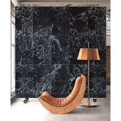 NLXL by Piet Hein Eek Behang - Black Marble