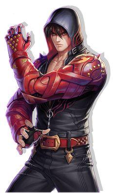 Jin by on DeviantArt Tekken 7 Jin, Tekken Jin Kazama, Game Character Design, Character Concept, Character Art, Video Game Characters, Anime Characters, Tekken Wallpaper, Snk King Of Fighters