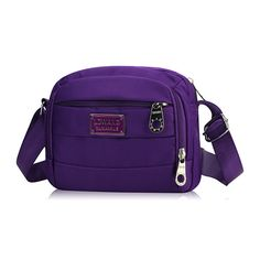 Women Casual Nylon Waterproof Shoulder Bags Messenger Portable Crossbody Bags