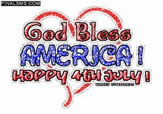 happy 4th of july glitter images