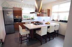 Aranżacja nowoczesnej kuchni - Raszyn - zdjęcie _586374