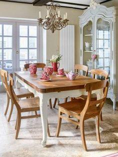 Traditionelle Esszimmer, Esszimmertisch, Land Speisesaal, Küche Und  Esszimmer, Landhaus Innenräume, Landhäuser, Moderner Landhausstil, ...