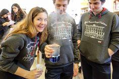 Décembre 2014 : expériences scientifiques