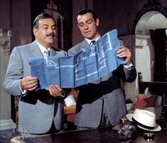 Still Of Sean Connery And Pedro Armend In From Russia With Love