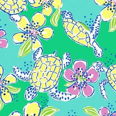 Lilly Pulitzer prints | Our Favorite Lilly Pulitzer Prints for Summer Lilly Pulitzer Patterns, Lilly Pulitzer Prints, Lily Pulitzer, Collages, Pretty Patterns, Fun Patterns, Pink And Green, Pattern Design, Drawings