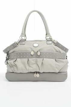 Bleecker Diaper Bag in Gray $150.00