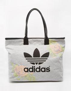 Adidas adidas Originals Pastel Rose Beach Shopper Bag - Multi