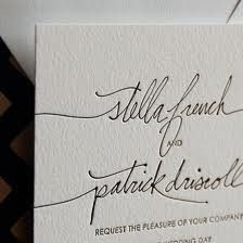 Love the script font on this invitation