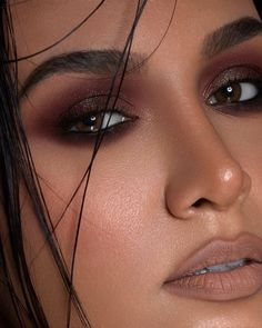 Smoky Eye Makeup, Makeup Eye Looks, Eye Makeup Art, Cute Makeup, Makeup Inspo, Skin Makeup, Eyeshadow Makeup, Makeup Inspiration, Makeup Tips