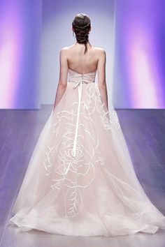 Romantic Jim Hjelm 2015 Wedding Dresses with exquisite details