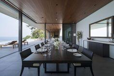 Phuket luxury villas dining room