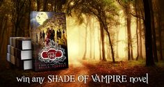 #BellaForrest #Giveaway Win any Shade of Vampire novel you want! #Kindle