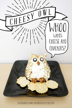 Cheesy Owl Free Printable & Recipe
