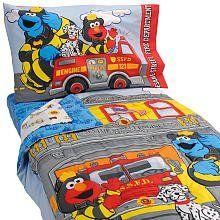Sesame Street Fire Department 4 Piece Set $49.99