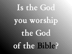 ..You shall worship the Lord your God, and Him only shall you serve. Luke 4:8 ESV
