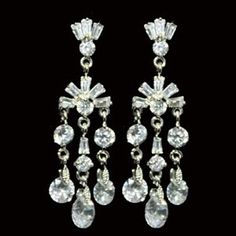 Vintage Hollywood Art Noveau Earrings special offer by fabledreams