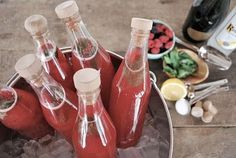 Recycled ketchup bottles