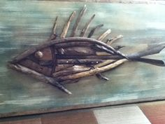 Driftwood Fish Wall Hanging by chandlerdavid on Etsy, $250.00