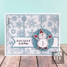 Heidi Macy: Gina K. Gina Marie X Stitched circle dies Stampin Up Christmas, Christmas Cards To Make, Christmas In July, Holiday Cards, Winter Holiday, Holiday Wishes, Hero Arts, Pattern Paper, I Card