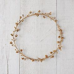 Golden Campanula Wreath | Terrain