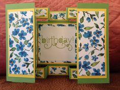 Kristine's card open