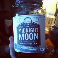 """""""Midnight Moon moonshine tastes like apple pie alcohol!"""""""