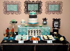 Breakfast at Tiffany´s Sweet Table Contest 2011