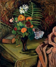 "blastedheath: ""Suzanne Valadon (French, 1865-1938), Nature morte aux fleurs, 1920. Oil on canvas, 65.1 x 54.5 cm. """