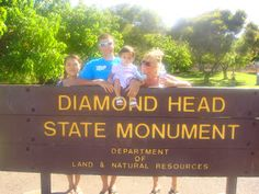 Oahu Family Activities: Diamond Head Hike