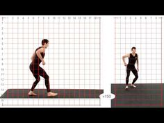 Forward Roll: Athletic Male: Grid Overlay - Animation Reference - YouTube