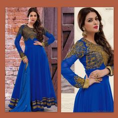 Stand Out in New Trendy Anarkali Suit!
