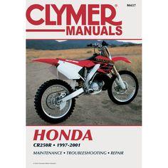 Clymer Honda CR250R (1997-2001) - https://www.boatpartsforless.com/shop/clymer-honda-cr250r-1997-2001/