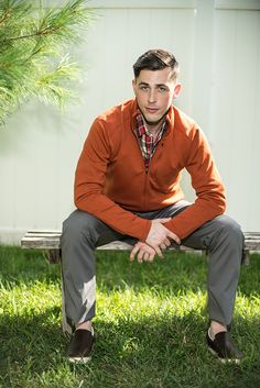 Orange Color Advantage | Designs by Ibex, Horny Toad and Nau | Photography by Daniel Lambiase / Model: Eric Knox / Production: Jess Minton | Men's Eco Fashion | Organic Spa Magazine