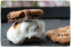 Chocolate Chip Cookie S'more - creative s'mores by Madyson's Marshmallows