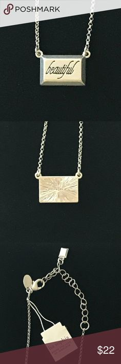 Fashion Jewelry Responsible 17-21 Long Chicos Slinky Silver Chain Red Enamel Rectangle Necklace Nwot Signed A Great Variety Of Goods Necklaces & Pendants
