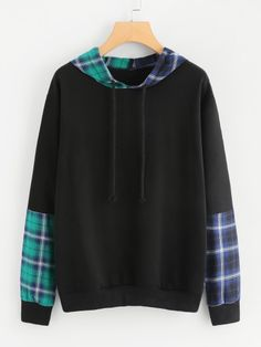Pullovers Designed with Hooded. Fabric has some stretch. Teen Fashion Outfits, Girl Outfits, Teen Guy Fashion, Fashion Shirts, Kawaii Fashion, Cute Fashion, Trendy Hoodies, Mein Style, Mode Streetwear
