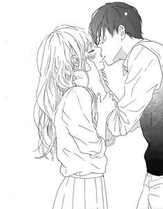 Marvelous Learn To Draw Manga Ideas. Exquisite Learn To Draw Manga Ideas. Manga Anime, Anime Amor, Anime Couples Manga, Anime Girls, Anime Couples Cuddling, Anime Couples Hugging, Couple Manga, Anime Couple Kiss, Photo Manga