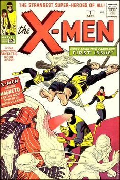 Happy 90th birthday to Stan Lee! 12/28/2012  Uncanny X-Men #1  Cover art by Jack Kirby and Sol Brodsky