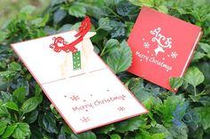 Christmas Reindeer Pop-up Cards