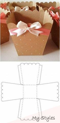 DIY Gifts Box-Geschenk Tipp - open treat box - Gift World and Gift Box Homemade Valentines, Valentine Day Gifts, Diy Valentine, Diy Crafts For Gifts, Crafts For Kids, Diy Paper, Paper Crafts, Valentines Bricolage, Cute Box