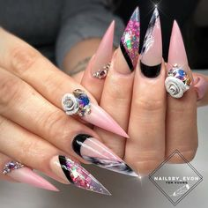 "4,281 Likes, 10 Comments - Ugly Duckling Nails Inc. (@uglyducklingnails) on Instagram: ""Beautiful nails by @vincentnails ✨Ugly Duckling Nails page is dedicated to promoting quality,…"""