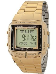 DB360G1D Casio Gold  Black Digital Watch  Gold  One Size >>> Visit the image link more details. (This is an Amazon affiliate link)