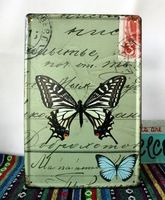 A Beautiful Butterfly Vintage Tin Signs Art Poster Bar pub home Restaurant Wall decor Metal Paintings YJ76 20x30cm